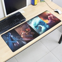 Custom natural rubber extended gaming mouse pad / mouse pad gaming / mousepad
