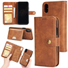 Hot items supreme wallet leather case for iphone x cases flip cover for iphone x wallet case leather