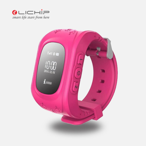 LICHIP Q50 tracking kid smartwatch cell child baby g children smart tracker kids gps watch phone