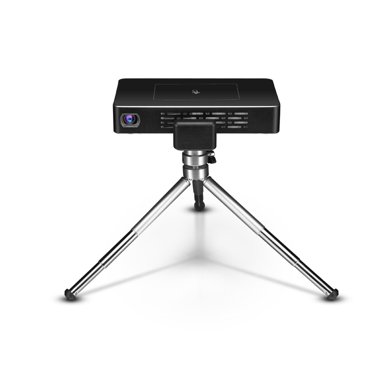 Full hd home movie projector led mini smart draagbare projector met touch pad