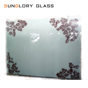 Toughened Tempered Screen Printed Glass Doors