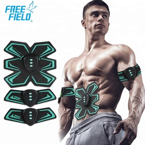 Professional Silica Gel Electric Wireless Compex Abdominal Deep Ems Training Suit Muscle Stimulator