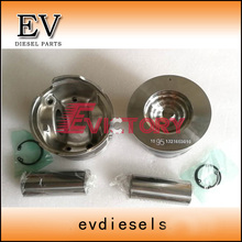 For Hino truck engine N04C N04CT piston and piston ring set