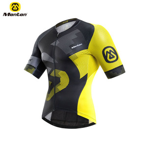 Light Weight Cycling Sets Racing Kit Men Bike Wear Bicycle Jersey With Sublimation Printing