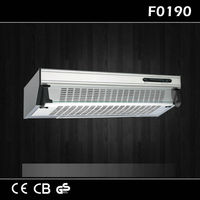 Powerful Ultra-thin Kitchen Exhaust Fans Wall Mount Integrated Range Hood F0190