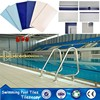 TAOTAO white ceramic swimming pool tile for the competition swimming pool