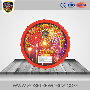 Wholesale Chinese Beautiful 3/1 Large Type Sparkling Wheel Fireworks