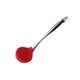 FDA approved rubber spatula cooking spoon silicone spoon with stainless steel handle