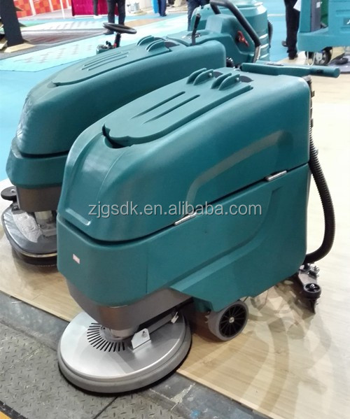 690bt commerical use concrete high pressure floor scrubber for Power washer concrete scrubber