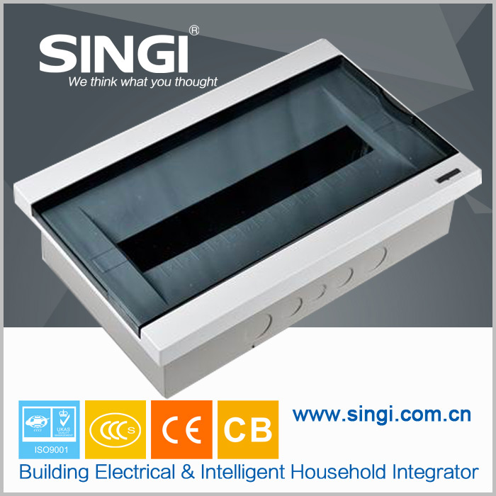 GNB5016 18 ways surface pc panel abs frame outdoor electrical panel boxes