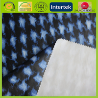 new Polyester tarpaulin taffeta fabric with rubber coated back for windstop