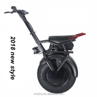 2018 new fashion high quality 500w / 1000w one wheel electric scooter