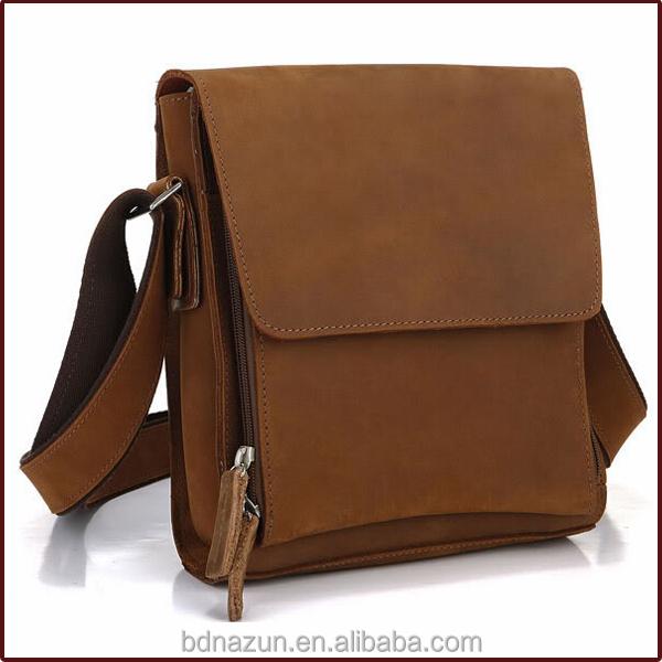 Italy Trend Men Bag Leather Shoulder Bags For Business