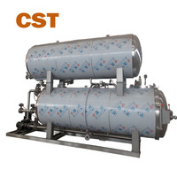 High temperature water immersion cans food retort sterilizer