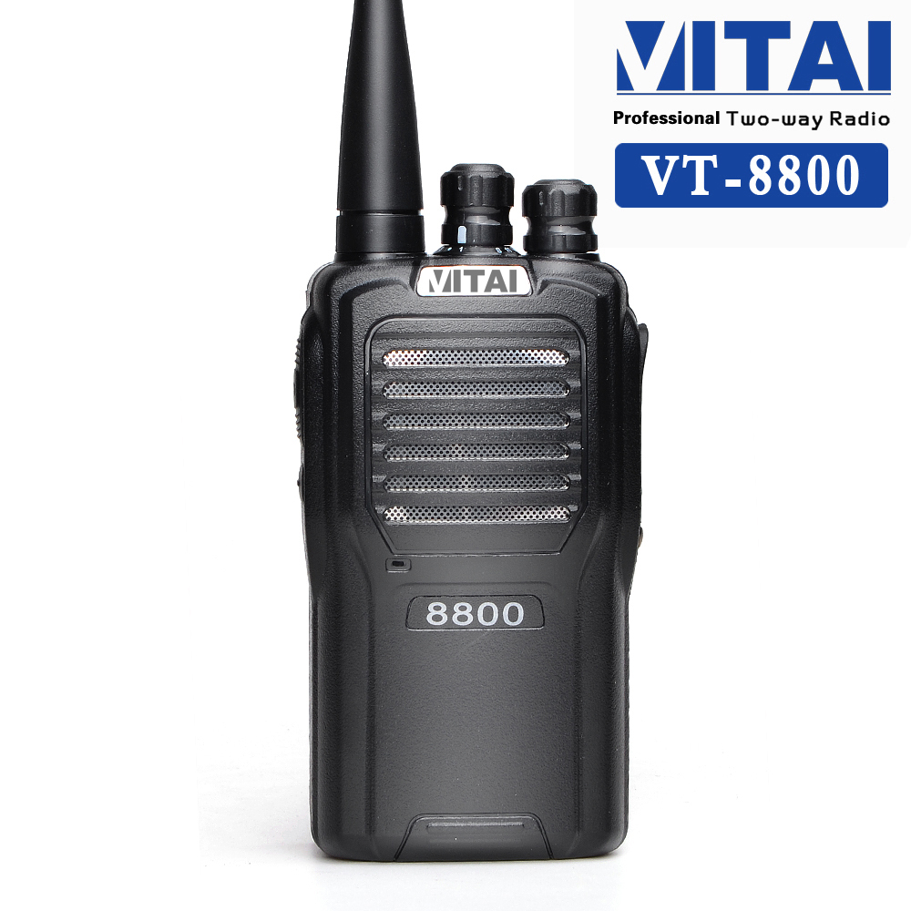VITAI VT-8800 16 Channels VHF/ UHF Rechargeable Long-range Two Way Radio Communicator
