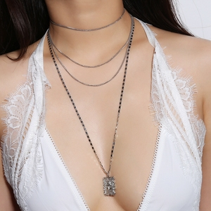 Fashion 2018 new design bold necklace jewelry for wholesale N-0078