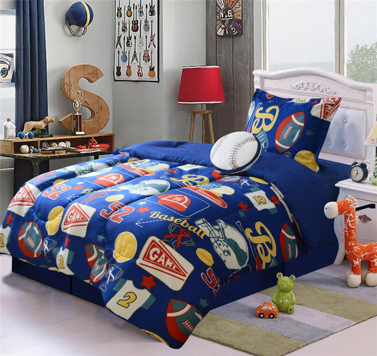 dcb58606 Cheap Football Bed Set, find Football Bed Set deals on line at ...