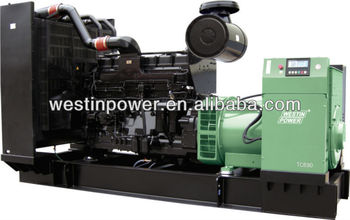 Open/silent type short delivery time 400kva diesel generator price