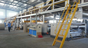 Taiwan technology 3/5/7 ply corrugated cardboard production line/packaging line/carton box making machine prices