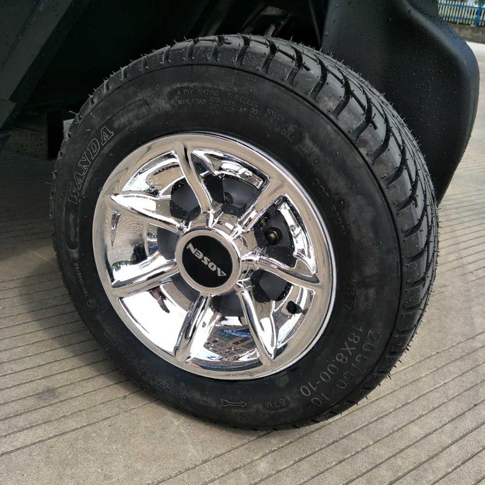 new designer strong claw and wear resistant golf cart road <strong>tire</strong> with aluminium wheel