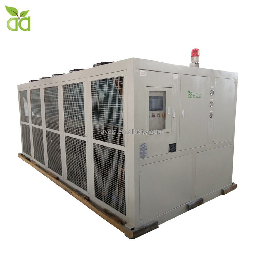 250 Kw 100 Hp Industrial Air Cooled Screw Water Chiller