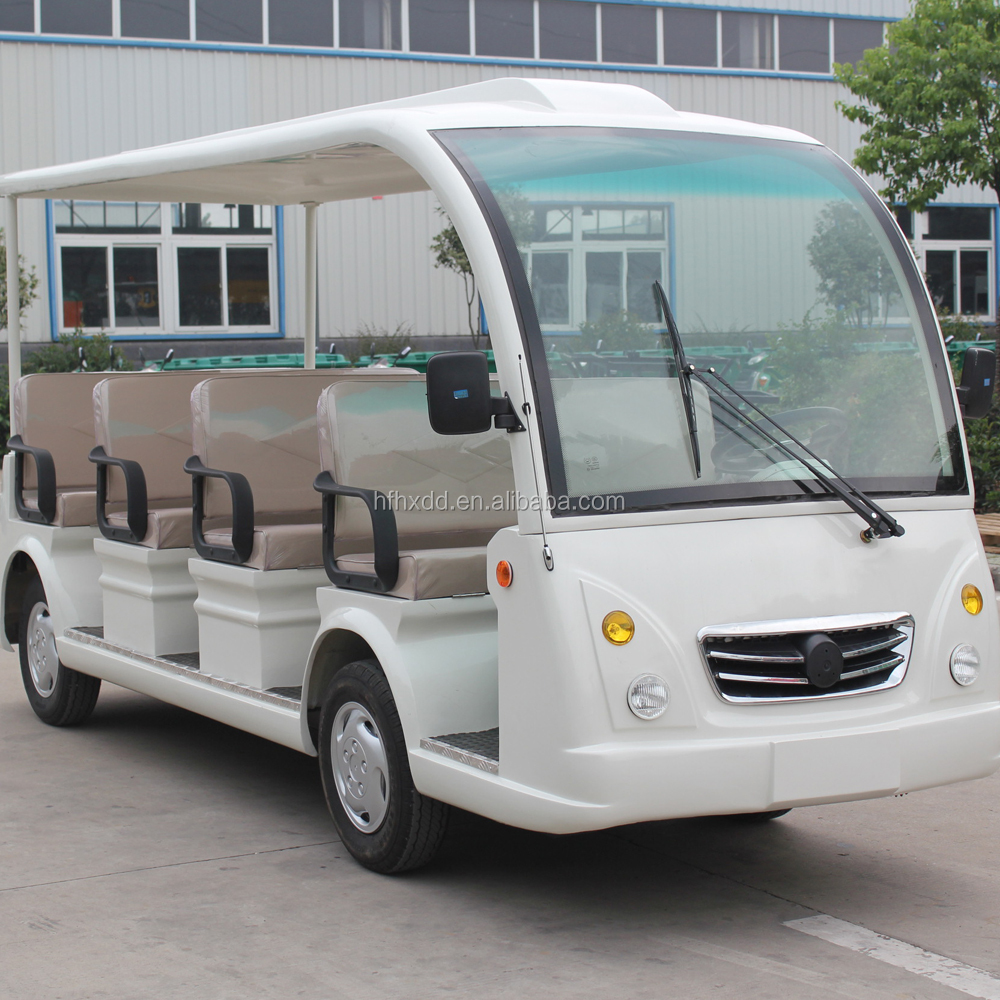 Hot Sale! Pure Electric Sightseeing Bus tour car Shuttle in Hotel Resort Park