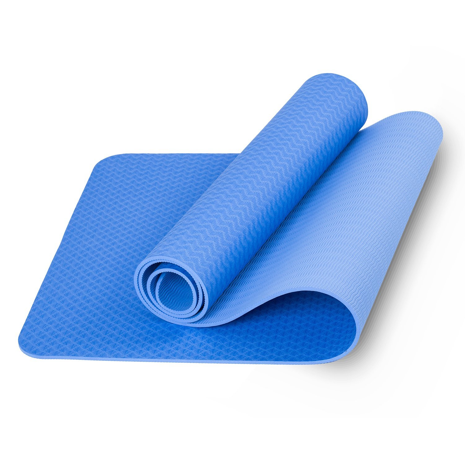 Ecofriendly Tpe Material Yoga Mat 72quotx24quotx6mm Thickness Matras 8mm Rubber Eco Anti Slip Bag Limited Edition