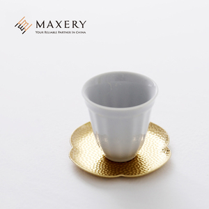 Ins Hot Sale High Quality Wholesale Brass Round Coaster for Drink Cup Mat