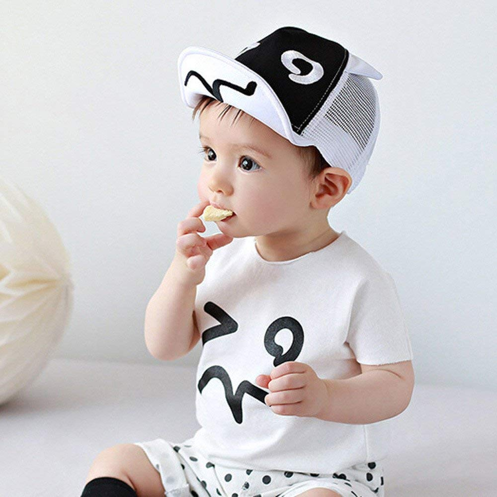 f2cf9d8be5ec7 Get Quotations · Jshuang Baby Cap 1-2 Years Old Baby Baseball Cap