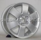 Car parts made in China 15 inch alloy with PCD 5X100 fit for Toyota car wheel rims factory price