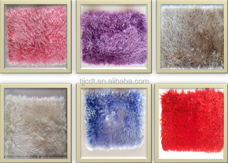 polyester 4.5cm pile height customized velour chenille carpets