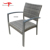 Patio Garden Outdoor Stacking Wicker Rattan Armchair Cafe Chair