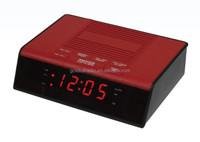 Factory Sale Decoration Digital am fm Red Led Display Radio Clock Alarm