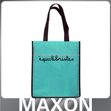 colorful non woven grocery shopping tote bag Guangzhou manufacturer