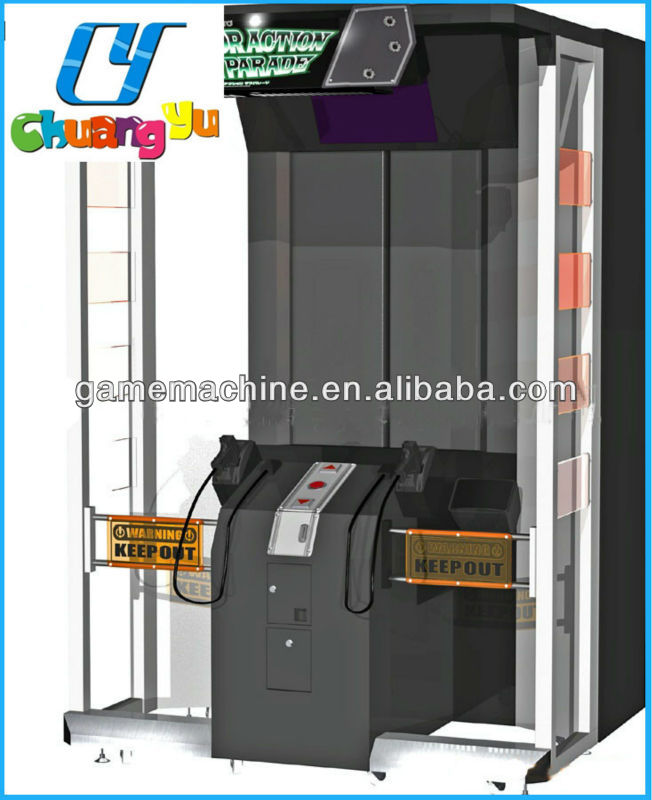 CY-SM018 Amusement arcade vide shooting game machine 55 Elevator Action