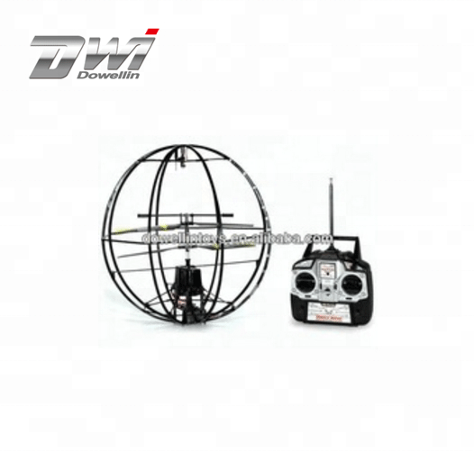 Giant Ball UFO GYRO Electric 3.5CH RTF RC Helicopter