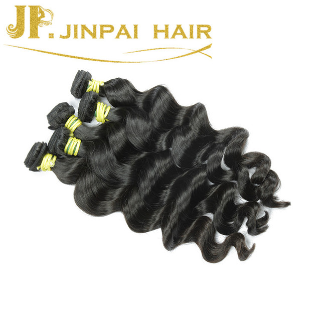 JP Hair 22 24 26 Inch/Lot Original Full Cuticles Virgin Peruvian Loose Wave Hair Bundle