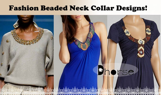 Guangzhou factory ready made collar beaded neck designs for ladies suit with collar DHDC2017