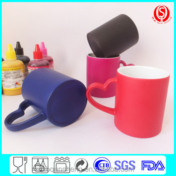 Sublimation Color Changing Mug Ceramic Sublimation Magic mug