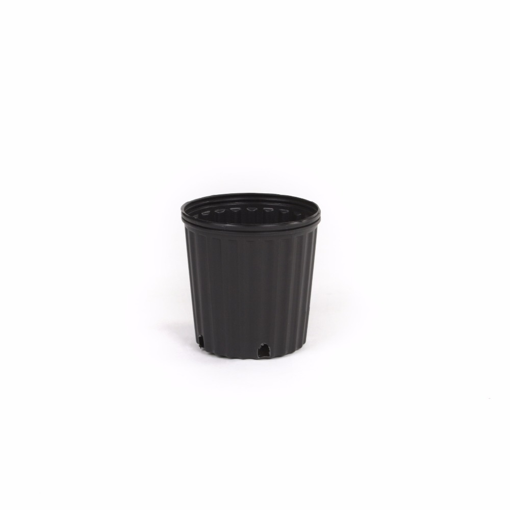 1 2 3 5 7 gallon blowing molded plastic HDPE flower pots durable high quality hot sale