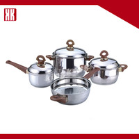 BEST SELLING Products Factory Sale Oem Stainless Steel Cookware Pot Pan Sets