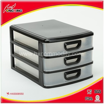 Rectangle Plastic A4 Paper Files Storage Drawer