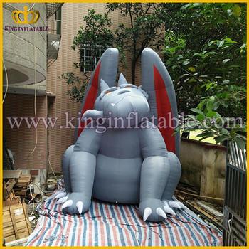4mh Huge Inflatable Gargoyle Monster Yard Decoration Product On
