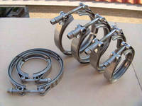5 inch quick release stainless steel V band exhaust pipe clamp