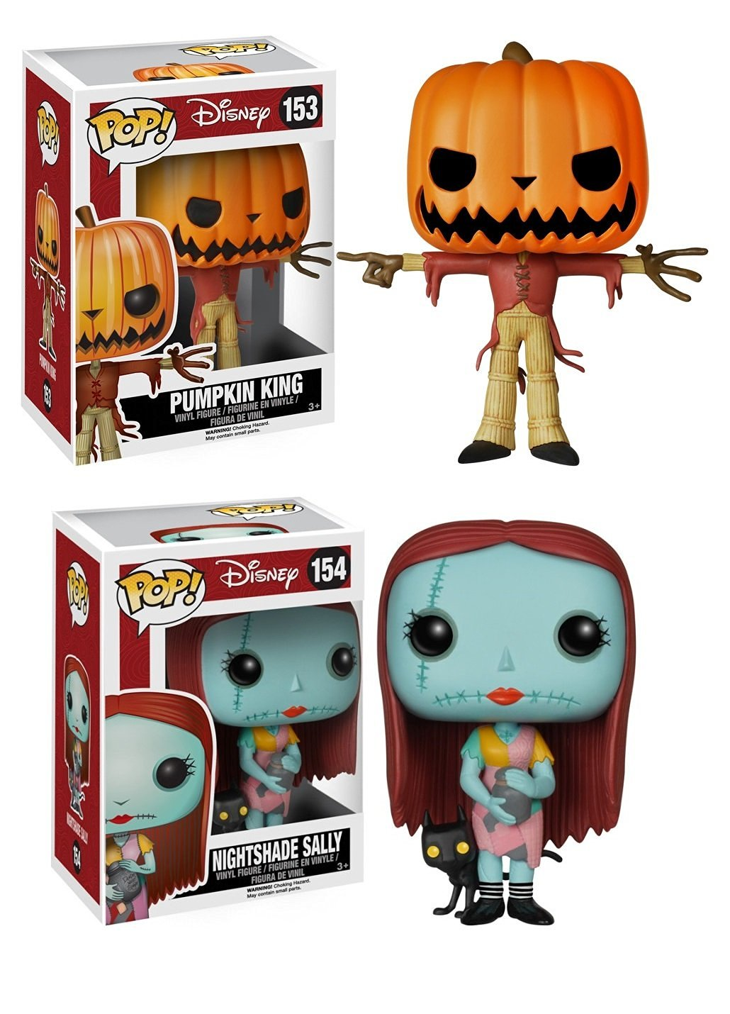 Buy Funko Pop Nightmare Before Christmas Pair Jack The Pumpkin