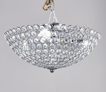 Modern Luxury Low Ceiling Crystal