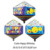 custom children Happy birthday gift box smile face cube shape mylar balloons for kids