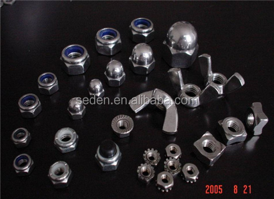 Competitive Price Zp/yzp Din 557 Square Nut