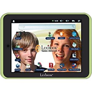 """Lexibook S.A - Lexibook Kids Tablet Advance 2 - Lexibook Cloud - Office Suite - 12,000 Apps - Multimedia - Skill Learning - 15 Languages App """"Product Category: Electronic/Music/Creative Play Toys/Kids Computers"""""""