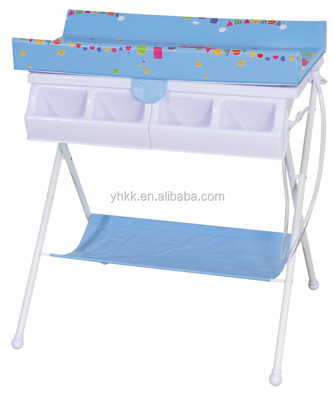 Pas cher b b table langer avec baignoire meubles b b s for Meuble baignoire bebe